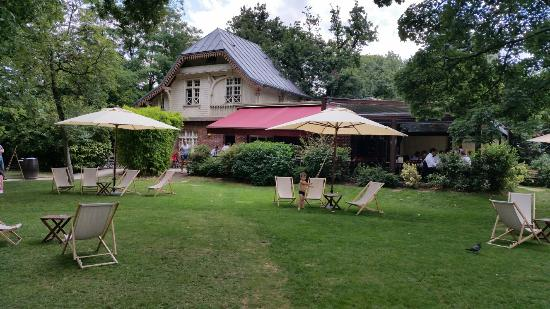 Terrasse jardin paris