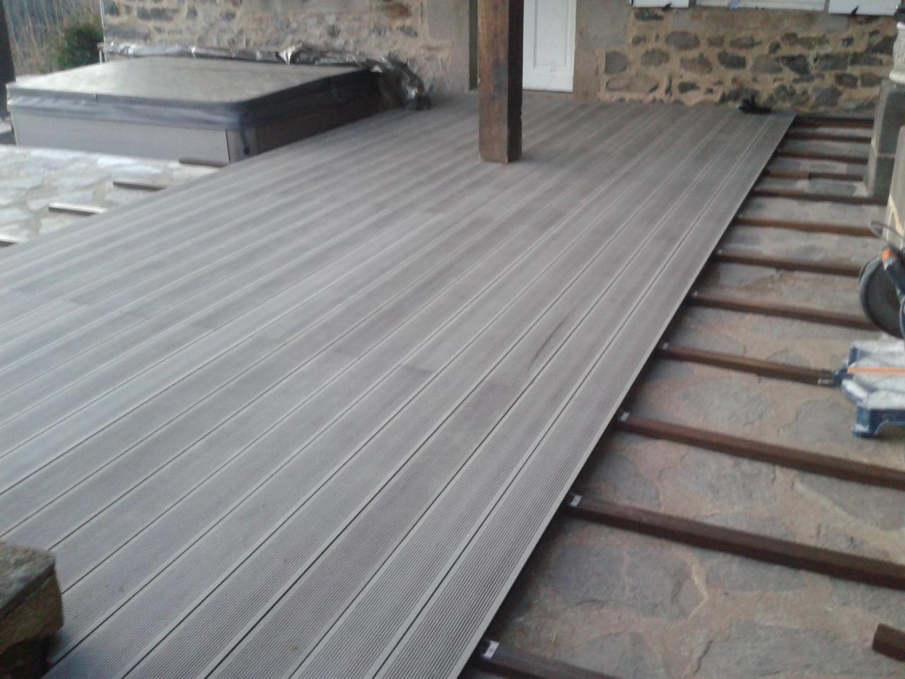 Terrasse composite silvadec prix