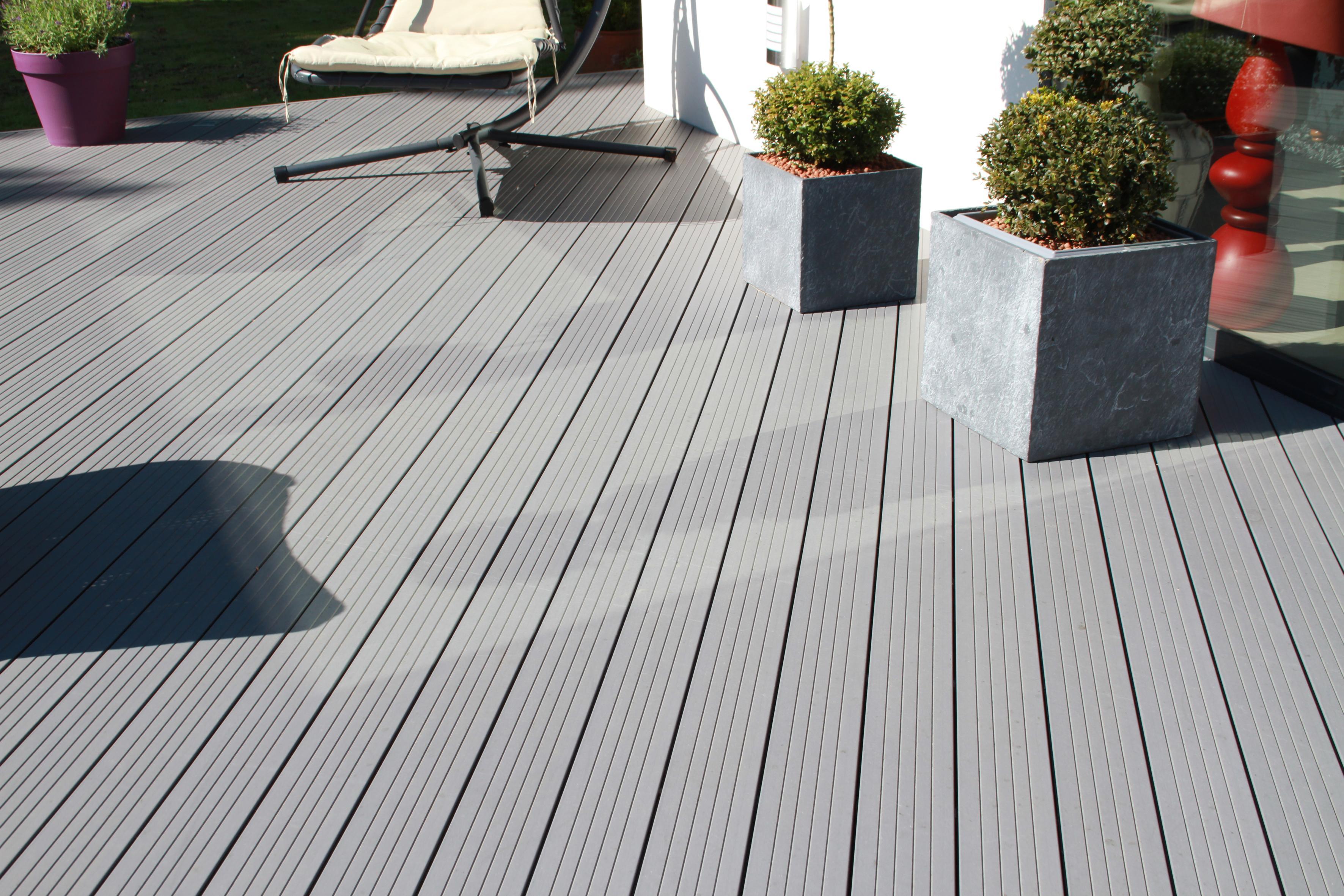 Terrasse composite exterieur