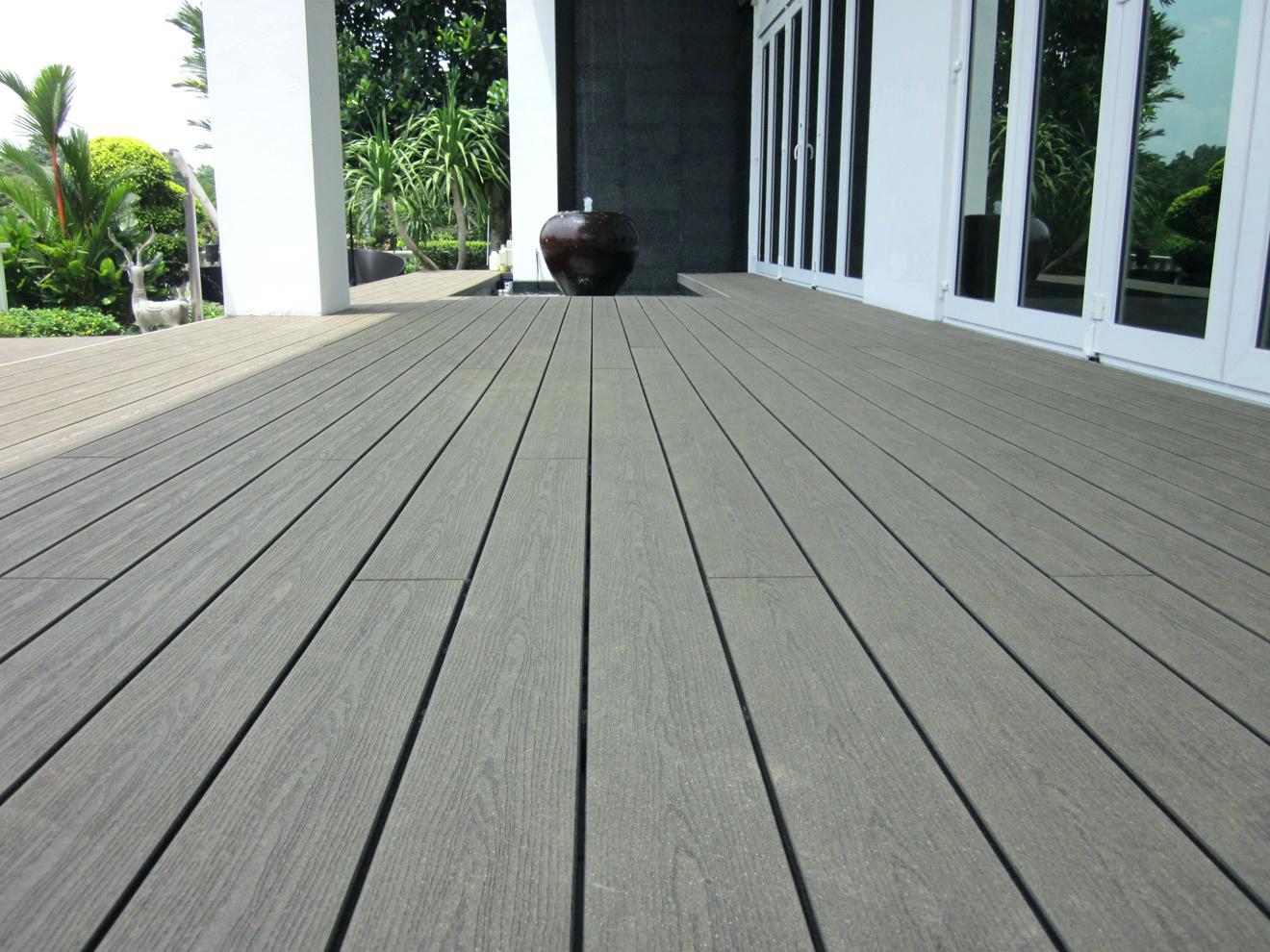Utiliser terrasse composite