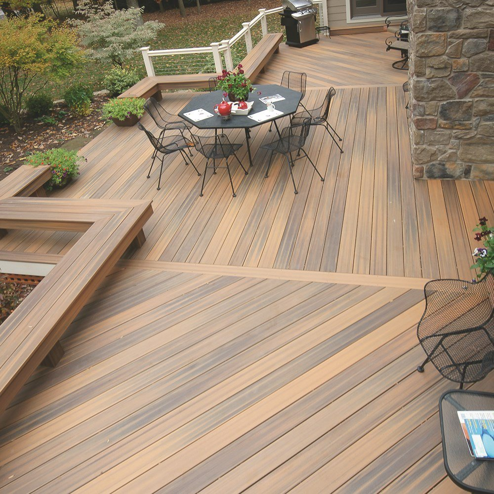 Terrasse bois composite fiberon