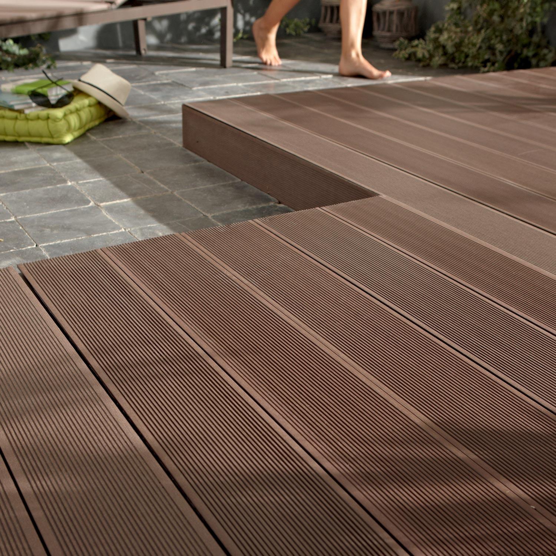 lame terrasse composite leroy merlin jardin. Black Bedroom Furniture Sets. Home Design Ideas