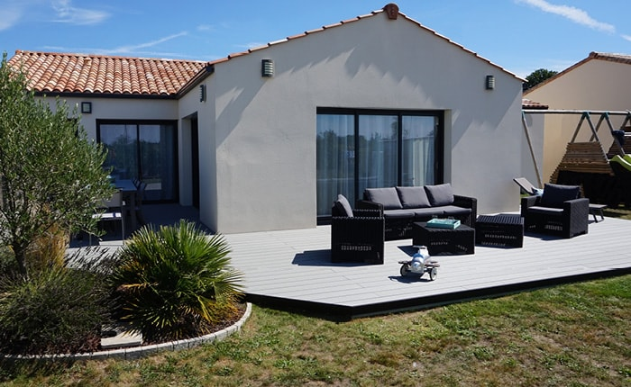 Terrasse composite optima