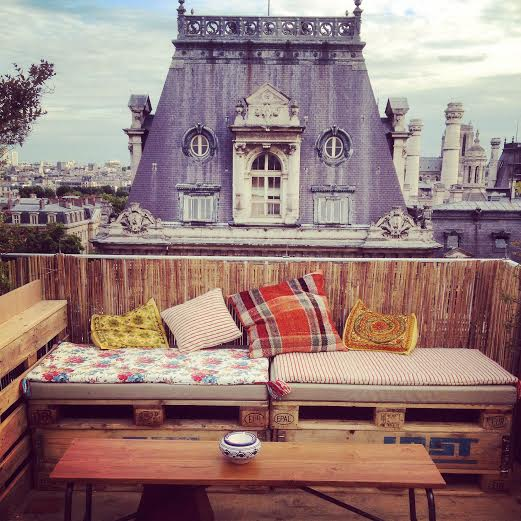 Toit terrasse du bhv