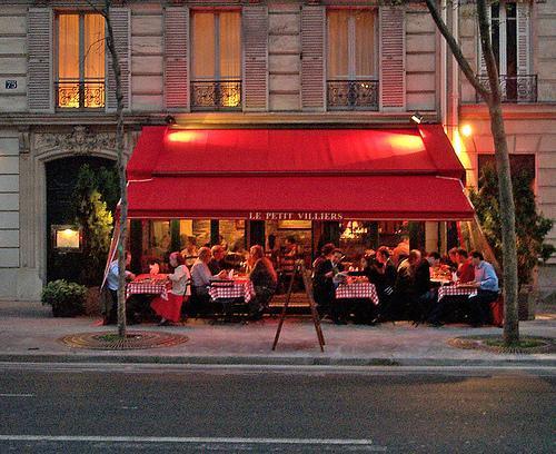 Restaurant terrasse villiers paris 17