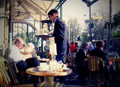 Café terrasse luxembourg