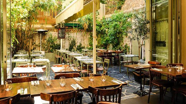 Restaurant avec terrasse interieure paris