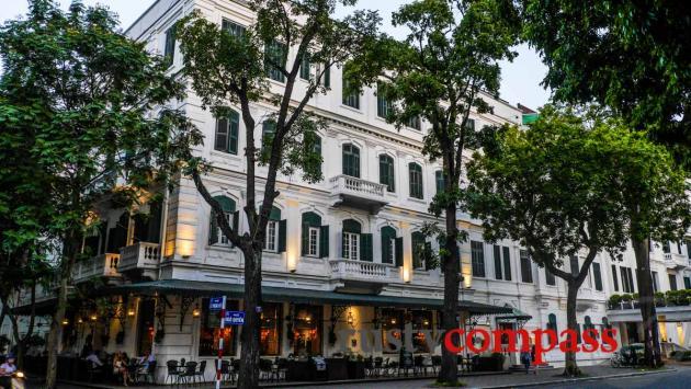 Terrasse hotel metropole