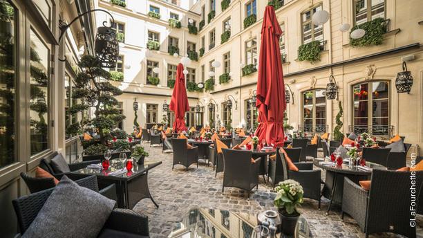 Restaurant terrasse paris madeleine