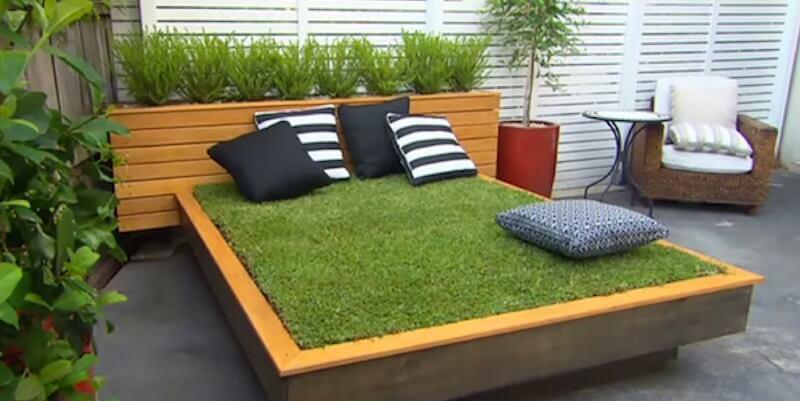 Terrasse fait avec des palettes - Mailleraye.fr jardin
