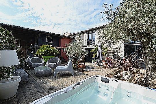 Piscine avec terrasse ile de france