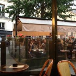 Restaurant la terrasse des archives paris 3