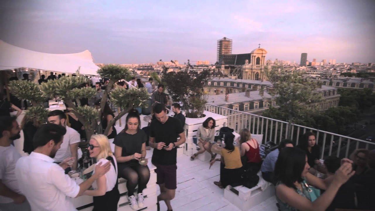 Bar terrasse bhv paris