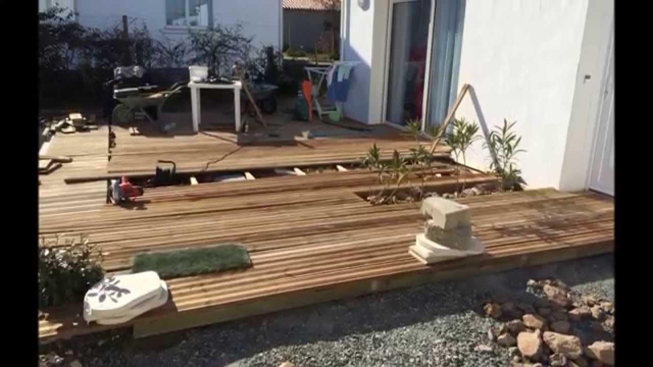 Construire sa terrasse autour de la piscine