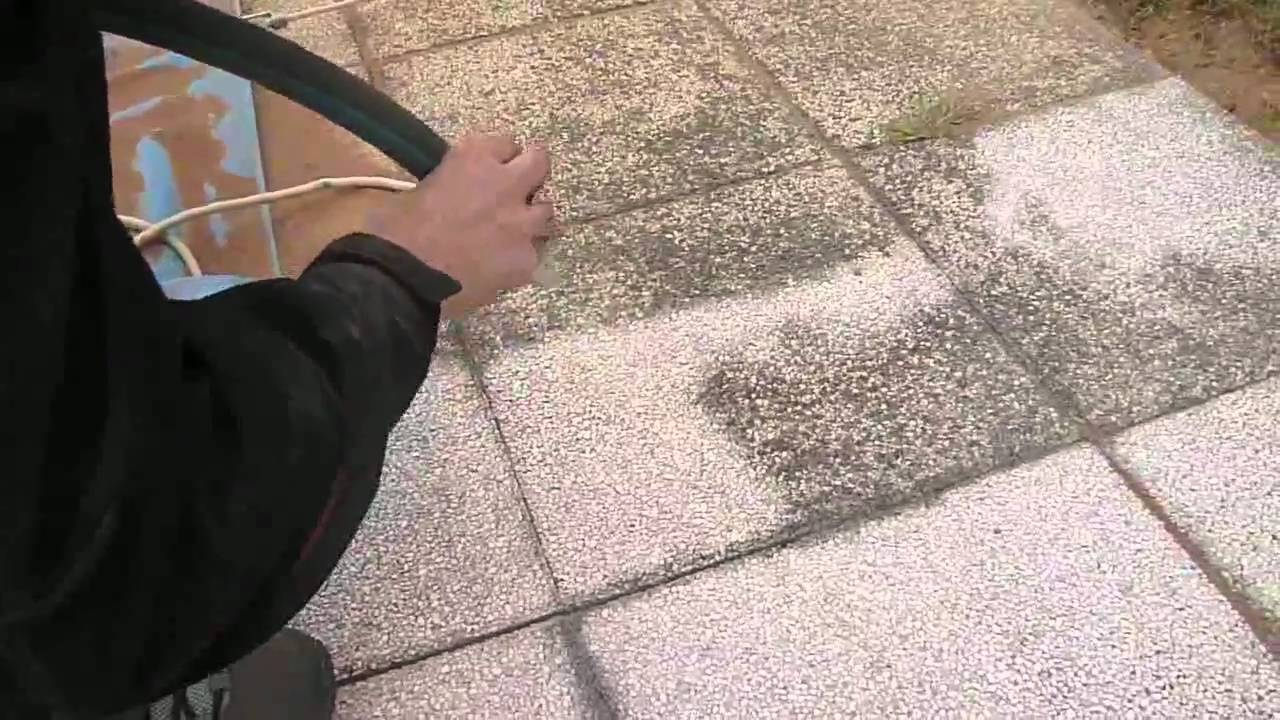 Terrasse beton gravillonnée