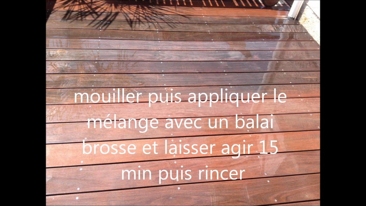 Nettoyage terrasse bois pas cher