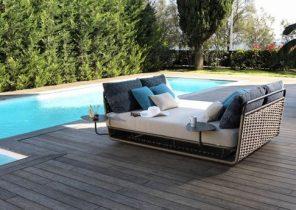 Salon de jardin table ronde avec rallonge - Meubles de jardin leroy merlin ...