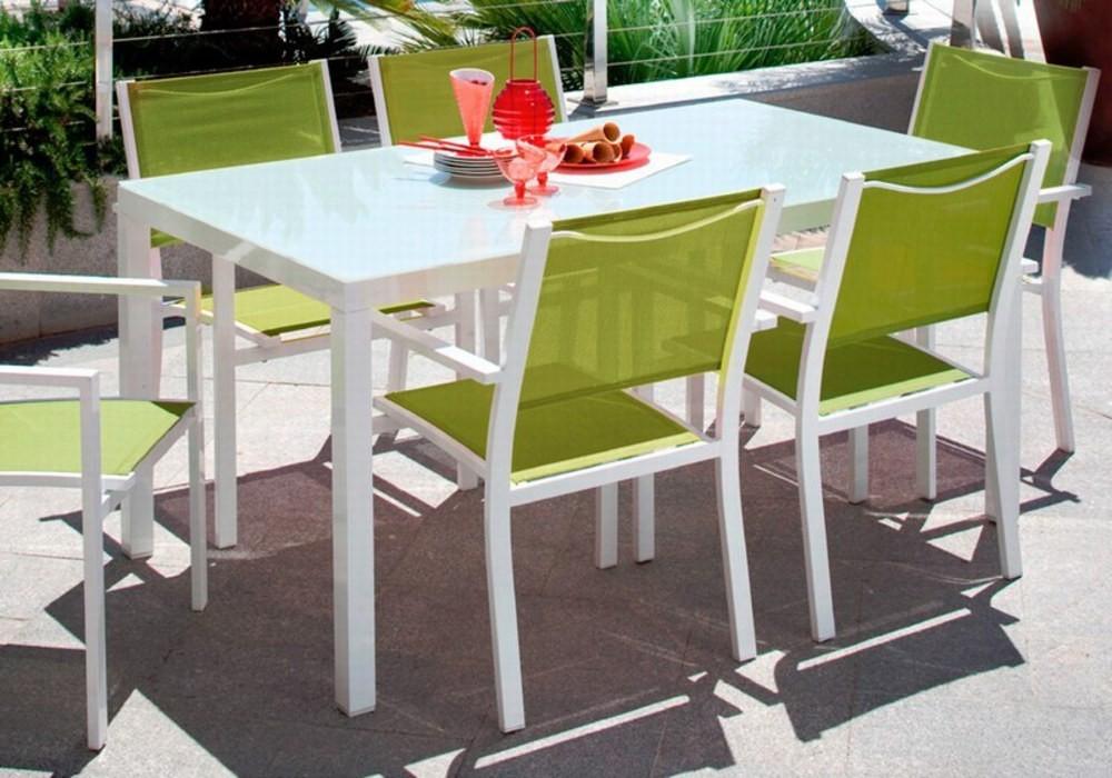 Salon de jardin en aluminium carrefour