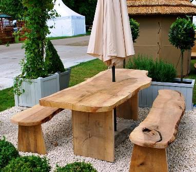 Mobilier de jardin en bois massif - Mailleraye.fr jardin