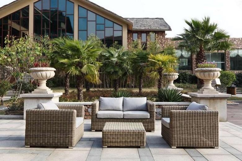 Salon de jardin tresse haut de gamme - Mailleraye.fr jardin