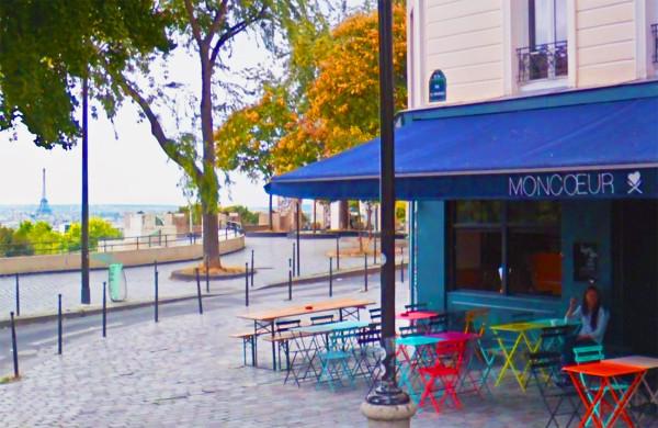 Restaurant avec terrasse belleville