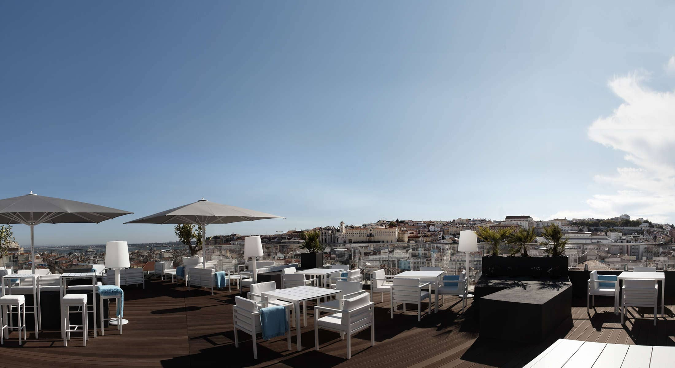 Terrasse hotel lisbonne