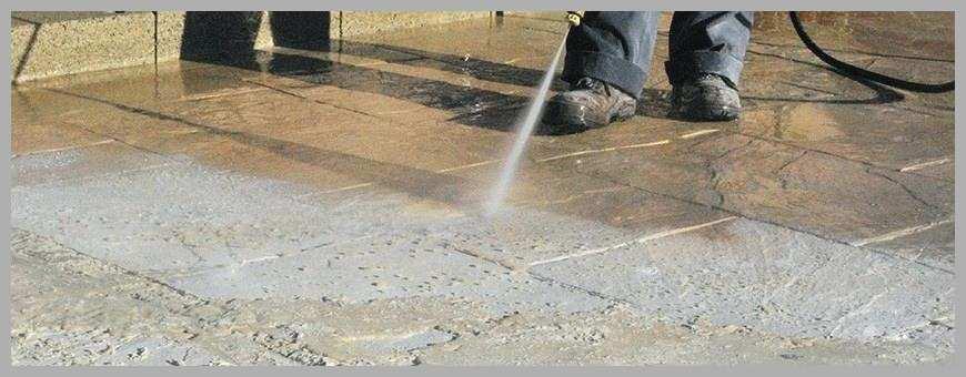 Nettoyage terrasse beton javel