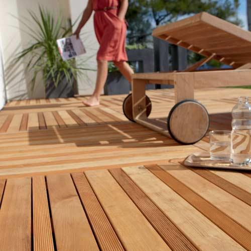 Photo terrasse bois composite leroy merlin