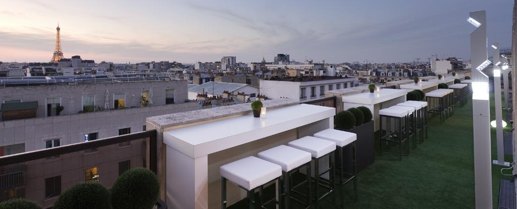 Terrasse hôtel paris montmartre