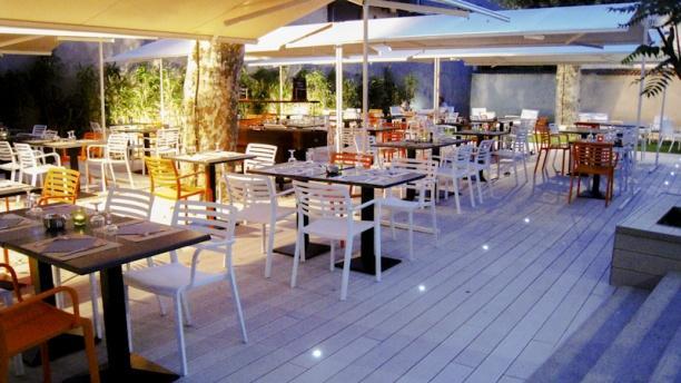 Terrasse et jardin restaurant