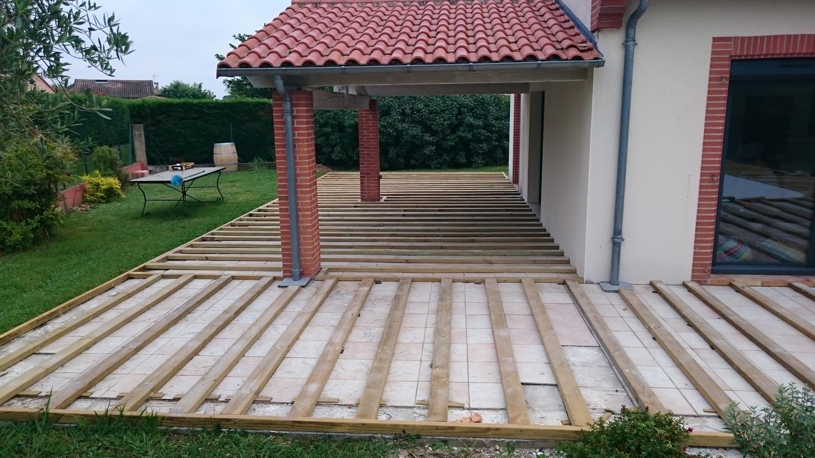 Terrasse composite renover
