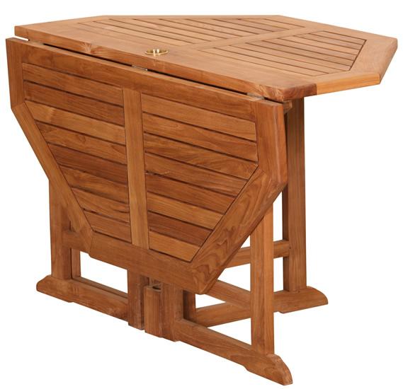 Salon de jardin en bois pliant - Mailleraye.fr jardin