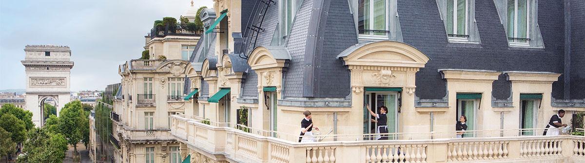Terrasse hotel kleber