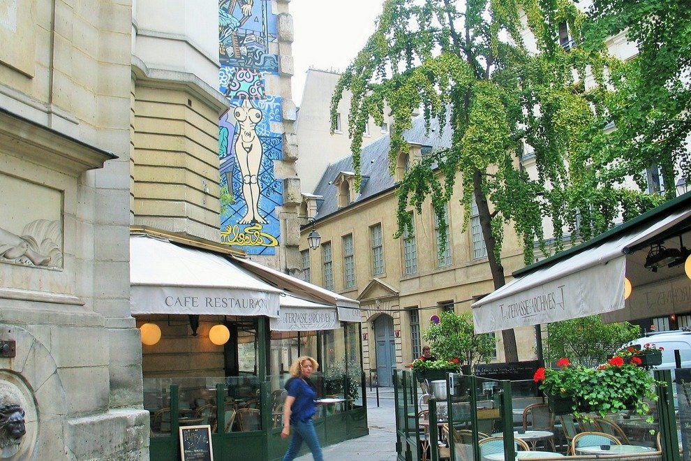 La terrasse des archives paris