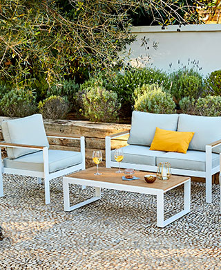 Salon de jardin super u 189€ - Mailleraye.fr jardin