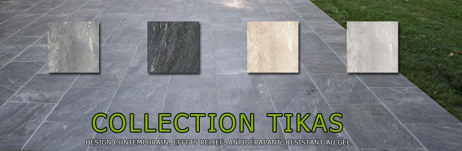 Carrelage terrasse resistant gel