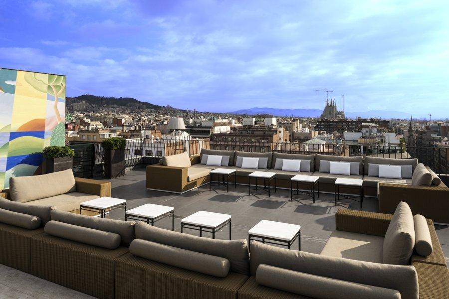 Terrasse hotel espana