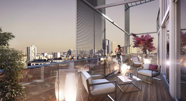 Terrasse design paris