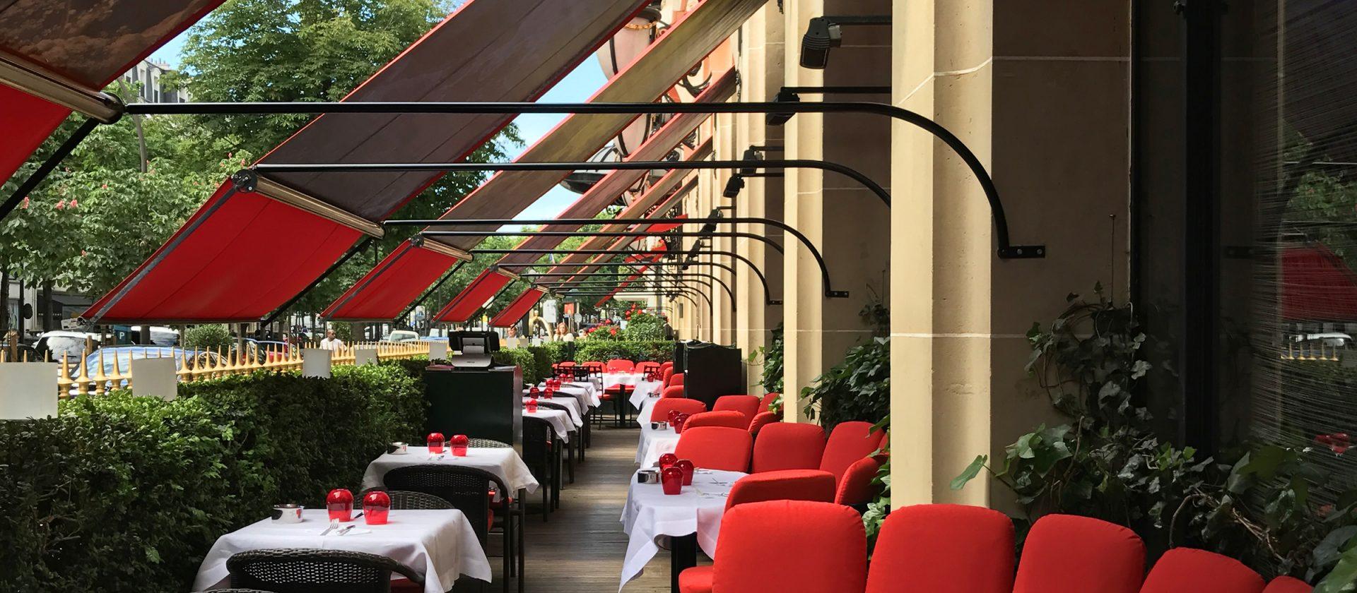 Terrasse hotel palace paris