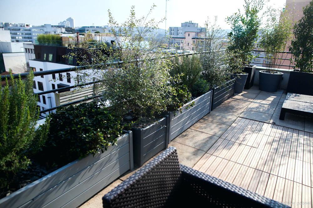 Terrasse paris balcon