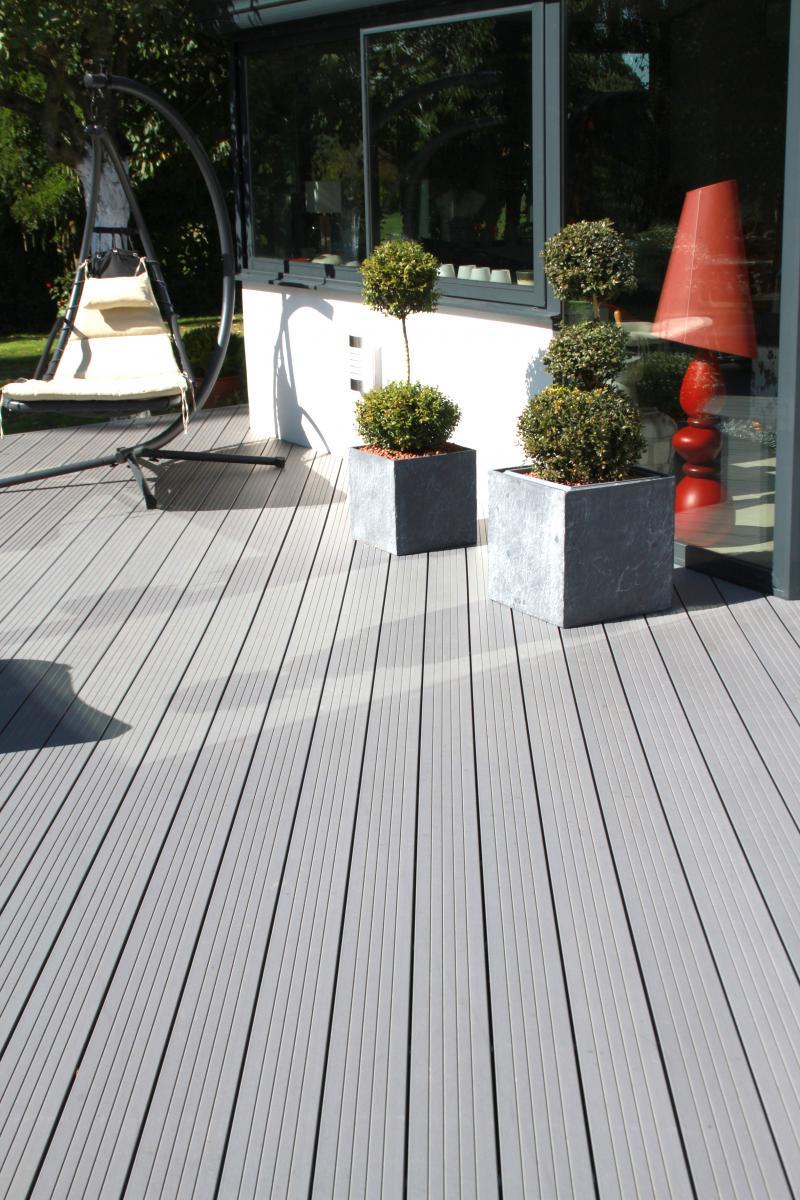 Terrasse composite resine