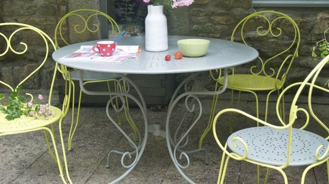 Awesome Renover Table Jardin Plastique Vert Pictures - House ...
