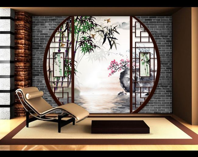 salon de jardin style japonais jardin. Black Bedroom Furniture Sets. Home Design Ideas