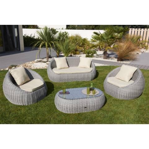 Petit salon de jardin occasion