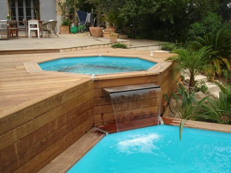 Terrasse Avec Piscine Et Jacuzzi Mailleraye Fr Jardin
