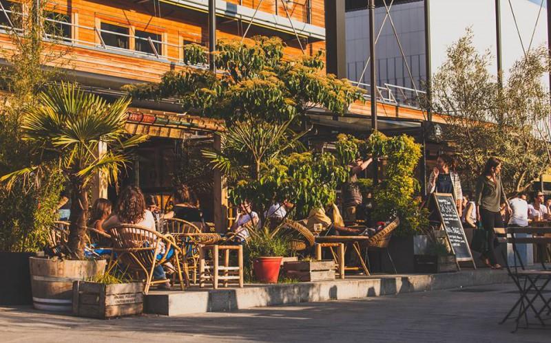 Bar terrasse ombragée paris