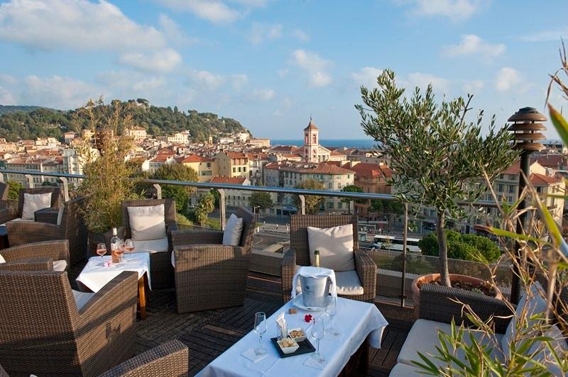Terrasse hotel nice