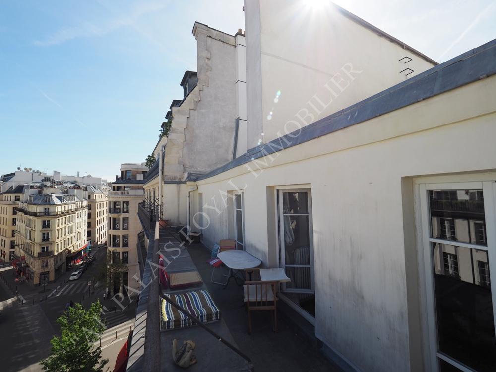 Appartement terrasse à vendre paris