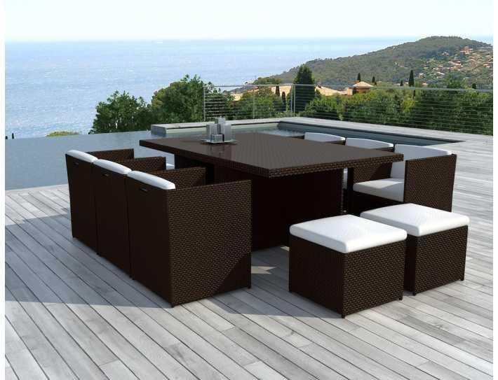 Salon de jardin table haute pas cher - Mailleraye.fr jardin