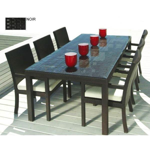 Mobilier de jardin table et chaises - Mailleraye.fr jardin